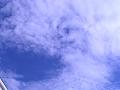 渦巻く鱗雲