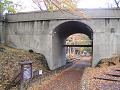欅並木道 公園前駅ホームから二の丸橋