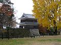 本丸跡から西櫓