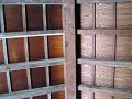 信濃国分寺 寺院造の休憩所 天井