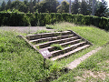 信濃国分寺 遺構の石段