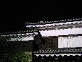 夜の上田城櫓門