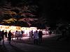 夜桜見物 屋台の明かり