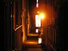 夜の裏道、細小路