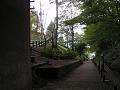 公園前駅(公会堂下駅)ホーム跡