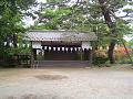 御屋敷公園 皇大神社舞殿(?)
