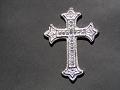 銀色の十字架