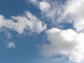 高い雲、低い雲