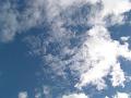 高々度、秋の雲