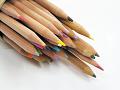 色鉛筆の束