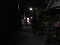 ある夜の裏小路