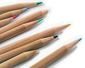 色鉛筆がいっぱい(左寄せ)