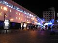 夜のJR上田駅外観