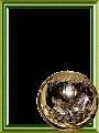 【縦png】虎の金杯 寅年 年賀状っぽい
