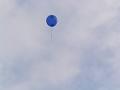 飛んでゆく風船【色変更加工ヴァージョン】 藍