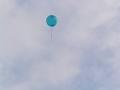 飛んでゆく風船【色変更加工ヴァージョン】 青