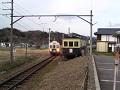 丸窓電車モハ5252と7200系7253編成「まるまどりーむ号」