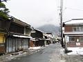 雪の朝(北国街道柳町)