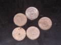 臨時補助貨幣 1銭錫貨幣