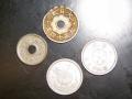 十銭硬貨色々。(表)