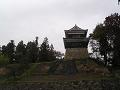 曇天の南櫓