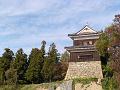 秋晴れの南櫓