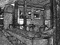 昇降口の水道(薄暗い・怖い)
