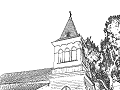 教会の尖塔