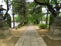 海禅寺の参道