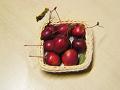 原種りんご:上から見下ろすアングル。(ピンぼけ、手振れ有り)