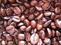 【ピンぼけ】深煎りコーヒー豆