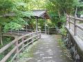 鹿教湯温泉:彼岸と現世をつなぐ橋(五台橋)
