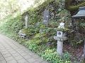鹿教湯温泉:句碑・歌碑・石灯籠