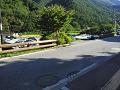 鹿教湯温泉:晩夏初秋の細い道