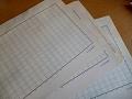 古い原稿用紙