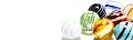 ブログヘッダ:ビー玉・白グラデーション有り