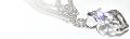 ブログヘッダ:ハート型のキュービックジルコニア(代用ダイヤモンド)