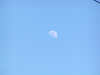月齢 8.5 九夜月