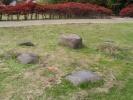 埋まった石