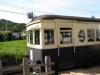 別所線 別所駅のモハ5252(丸窓電車)