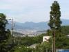 常楽寺から見下ろす上田盆地