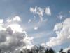 流れてゆく雲