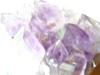 アメシストの結晶(ピンぼけ)