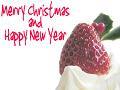 ハーフトーン加工MerryChristmas and HappyNewYear