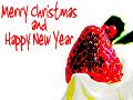 ポスタリゼーション加工 MerryChristmas and HappyNewYear